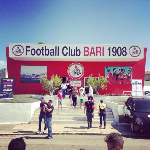 Immancabile quest'anno lo stand dedicato alla squadra di calcio FC Bari 1908.
