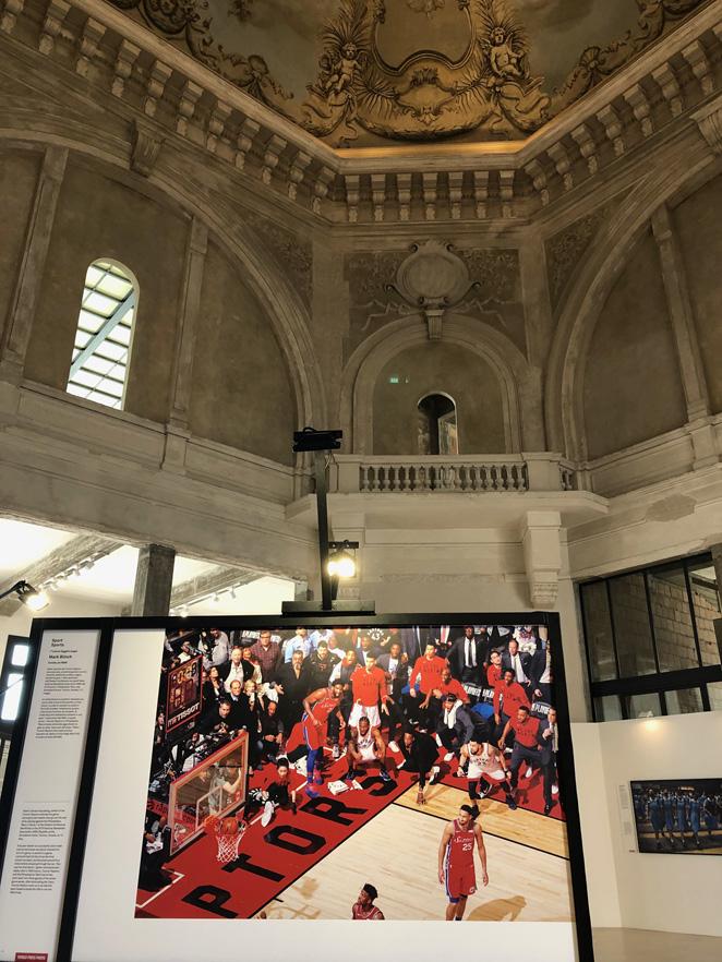 La mostra nello splendido Teatro Margherita.